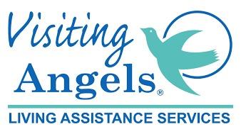 Logo de Visiting Angels, client de Badgy pour ses badges employés